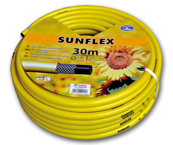 """Шланг для поливу SUNFLEX 1"""" 50м, WFS150"""