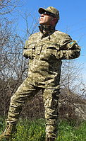 Костюм камуфляжный тактический ВСУ светлый пиксель 75/25, фото 1