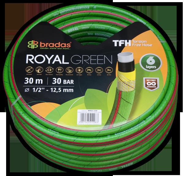 """Шланг для поливу ROYAL GREEN 5/8"""" 20м, WRG5/820"""