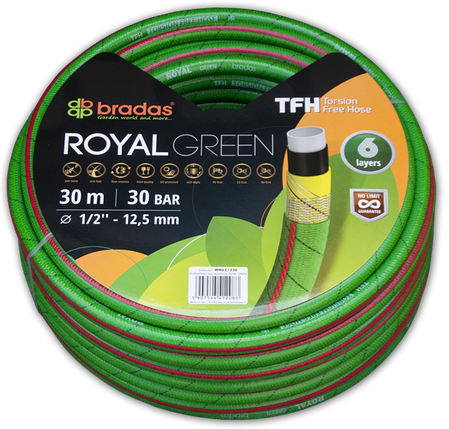 """Шланг для поливу ROYAL GREEN 5/8"""" 20м, WRG5/820, фото 2"""