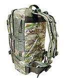 Тактический армейский походный штурмовой 3-х дневный рюкзак на 50 литров мультикам Cordura 1000D , фото 2
