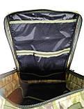Тактический армейский походный штурмовой 3-х дневный рюкзак на 50 литров мультикам Cordura 1000D , фото 6