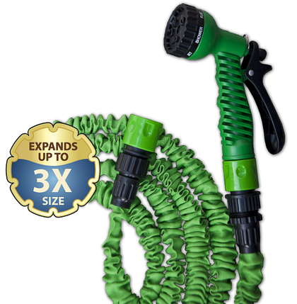 Растягивающийся шланг TRICK HOSE 7,5-22 м, зеленый, WTH722GR, фото 2