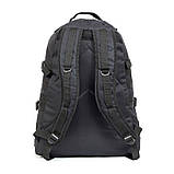 Тактический походный крепкий рюкзак 40 литров чёрный., фото 4