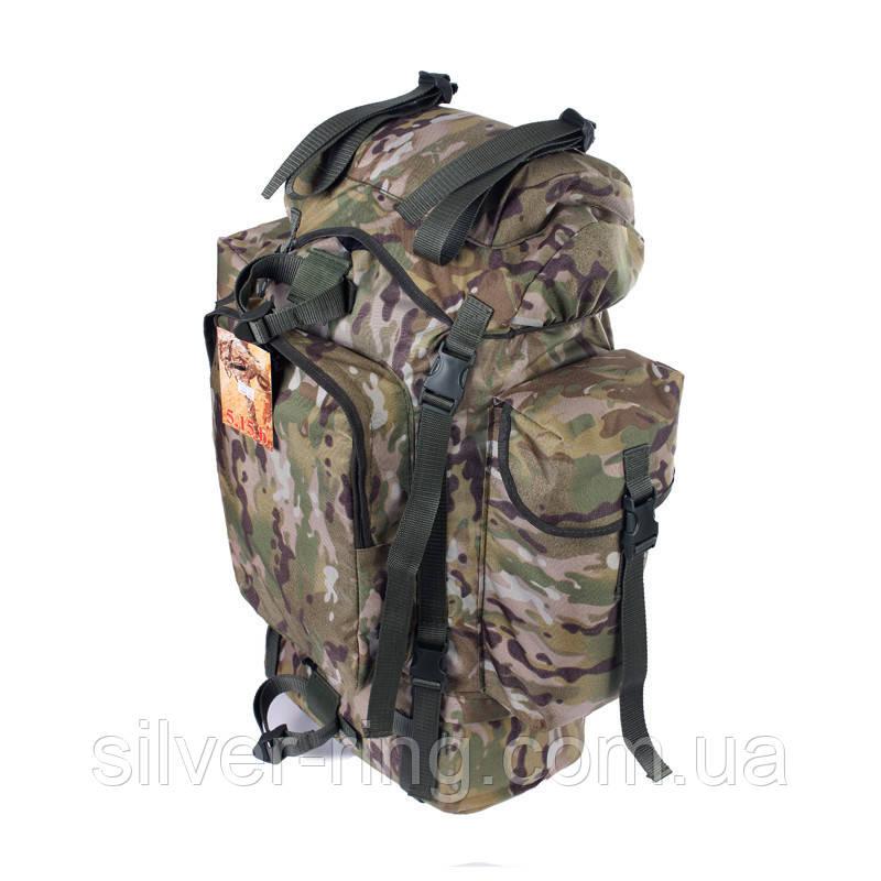 Туристический армейский супер-крепкий рюкзак на 75 литров мультикам