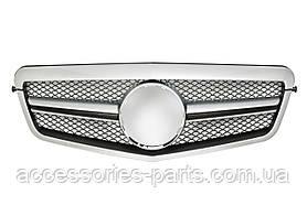 Решетка радиатора Mercedes E-Class  W212  E350 E550   2010-2013  Новая Оригинальная
