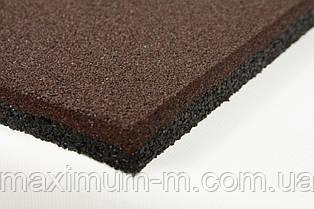Плитка резиновая 500х500х12 мм разных цветов