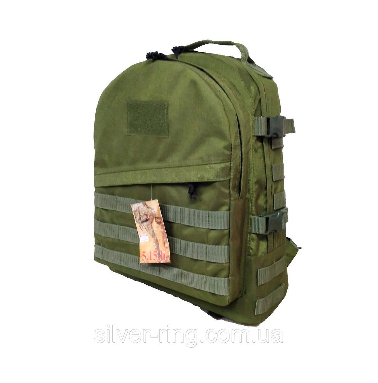 Тактический армейский супер-крепкий рюкзак 30 литров олива
