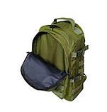 Тактический армейский супер-крепкий рюкзак 30 литров олива, фото 6