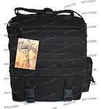 Тактическая сумка-планшет Черный, фото 2