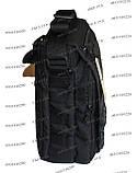 Тактическая сумка-планшет Черный, фото 4