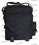 Тактическая сумка-планшет Черный, фото 6