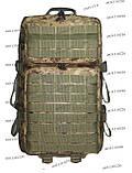 Тактический, штурмовой крепкий рюкзак 38 литров Украинский пиксель, фото 2
