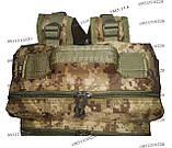 Тактический, штурмовой крепкий рюкзак 38 литров Украинский пиксель, фото 7