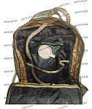 Тактический, штурмовой крепкий рюкзак 38 литров Украинский пиксель, фото 9