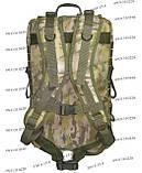 Тактический, штурмовой супер-крепкий рюкзак 38 литров мультикам, фото 4