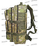 Тактический, штурмовой супер-крепкий рюкзак 38 литров мультикам, фото 5