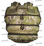 Тактический, штурмовой супер-крепкий рюкзак 38 литров мультикам, фото 7