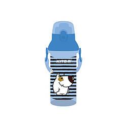 Бутылочка для воды, 470 мл, голубая