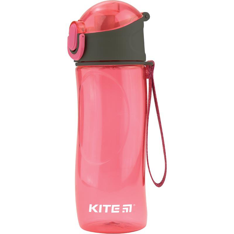 Бутылочка для воды, 530 мл., розовая