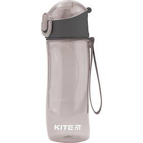 Бутылка для воды, 530 мл., серая