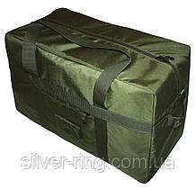 Тактична супер-міцна сумка 100 Літрів. Олива. ВСУ