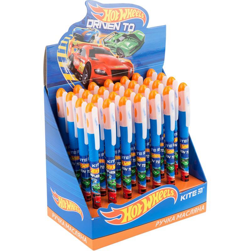 Ручка масляная, синяя HW