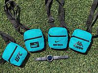 Барсетка мужская, сумка через плечо, мессенджер / 4 вида
