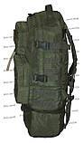 Тактический туристический супер-крепкий рюкзак трансформер 30-45 литров Олива, фото 4