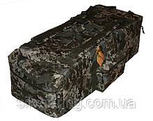 Тактическая крепкая сумка 75 литров. Экспедиционный баул. Украинский пиксель. ВСУ