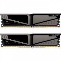 Модуль памяти для компьютера DDR4 8GB (2x4GB) 3200 MHz T-Force Vulcan Gray Team (TLGD48G3200HC16CDC01)