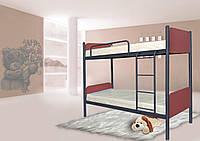 Двухъярусная кровать Арлекино 80*190 (Металл дизайн)
