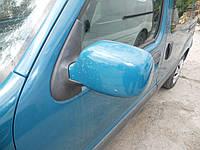 Зеркало левое зеленое на Renault Kangoo