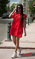 Свободное платье из хлопка 978, фото 1