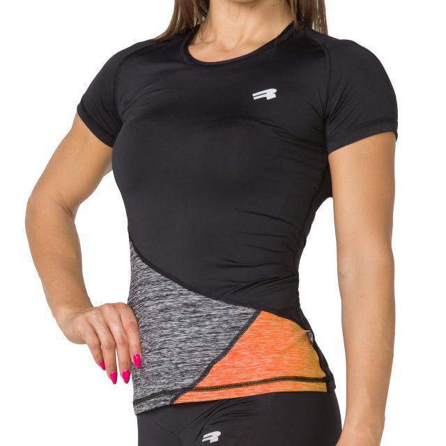 Спортивная женская футболка Radical Reaction SS (Польша), футболка для бега, велоезды, фитнеса