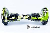 "Гироборд Smart Balance Elite Lux 10"" Джунгли + Сумка в подарок!, фото 1"