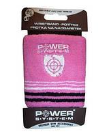 Напульсник спортивный  Power System на руку универсальный , разного цвета