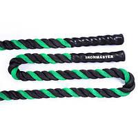 Канат для кроссфита IronMaster длина 12м d=5см IR95104-1250