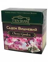 Чай  черный и зеленый Тянь-Шань Вишневый Сад - 40 гр.