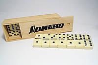 Домино в деревянном футляре (IG1004)