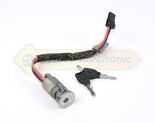 Контактная группа замка зажигания с ключами на Renault Kangoo 1997->2008 - Genuine Parts (Польша) - FG62513