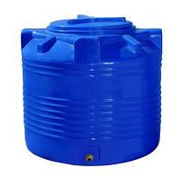 Емкость бак бочка для воды 200 л вертикальная двухслойная пластиковая 70х66 см