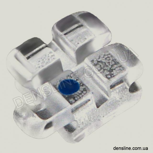 Сапфировый брекет Perfect Clear II Roth 018/022 - 1шт (HUBIT) NaviStom