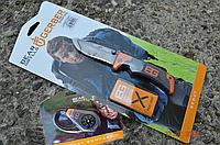 Нож gerber Gear Grylls scout и компасом BG (22-31-000754.SET2)