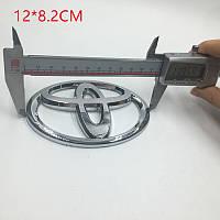 Эмблема решетки радиатора и крышки багажника Toyota 12*8.2