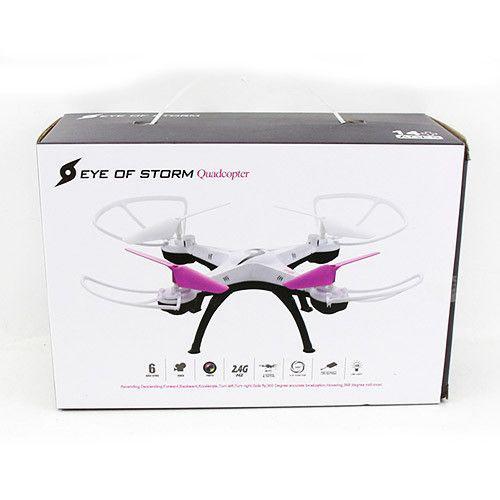 Квадрокоптер дрон радиоуправляемый Drone Eye of storm A3 2.4Ghz White