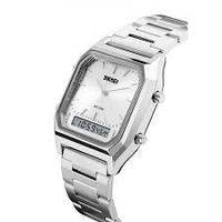 Часы Skmei 1220 Silver, фото 1