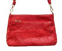 Женская маленькая сумочка через плечо GH521(красная)
