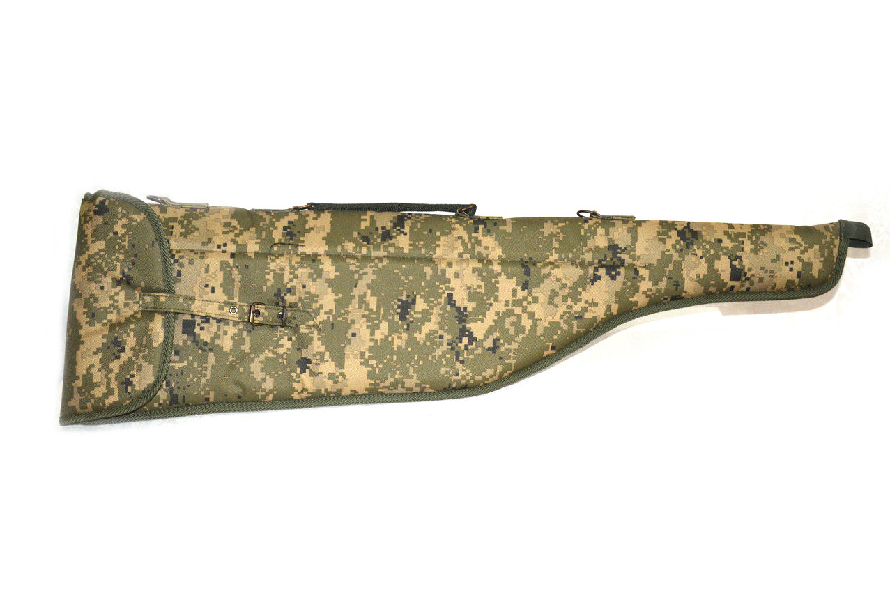 Чехол для ружья на ткани камуфляж цвет 2 5201