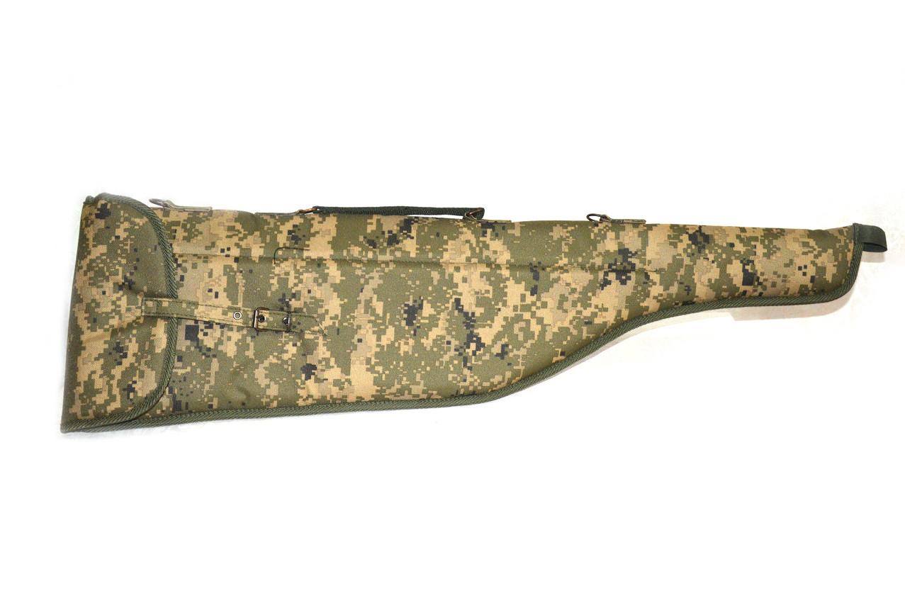 Чехол для ружья на паралоне камуфляж цвет 2 5205